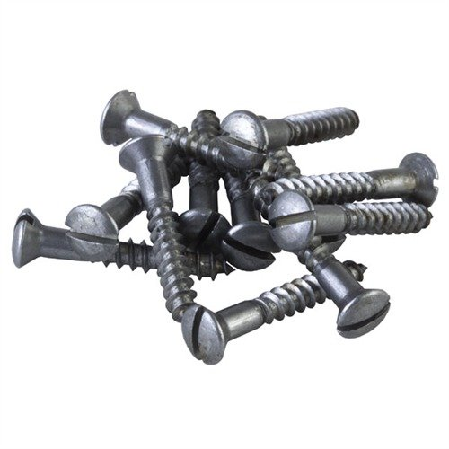 Replacement Butt Plate Screws, 1 Dozen