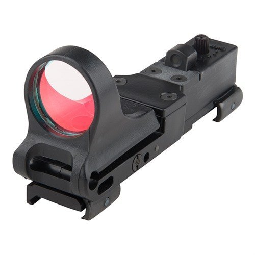 Railway Polymer Red Dot Sight 8 MOA Standard Switch Black