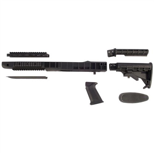 Ruger 10/22 Bull Barrel Intrafuse Stock Adj Composite BLK