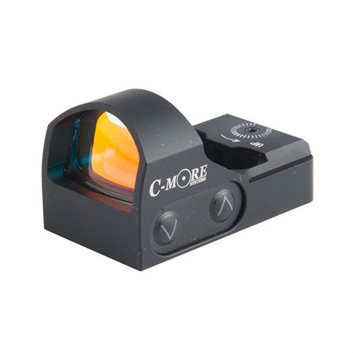 STS2 Red Dot Sight, Click, BLACK - 6 MOA