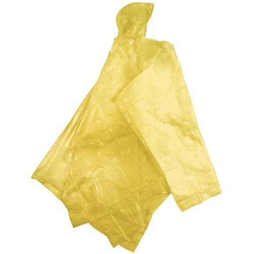 "Youth Peva Poncho-45""x72""-Yellow"