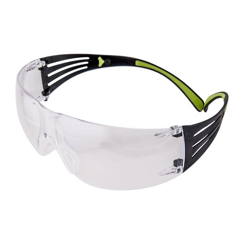 Clear SecureFit Shooting Glasses Black