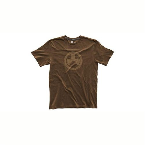Fine Cotton Topo T-Shirt Dark Brown Medium