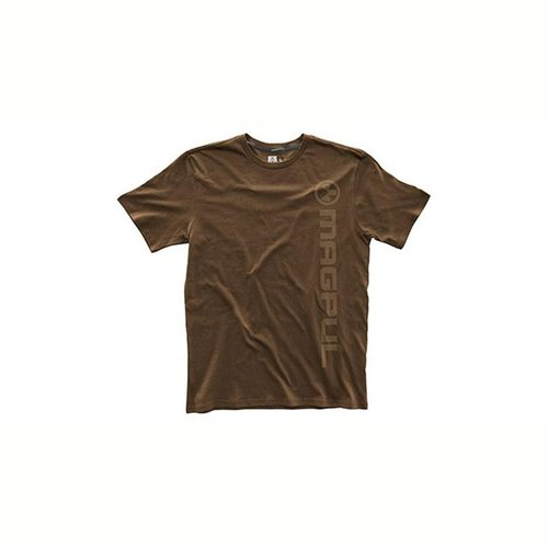 Fine Cotton Vert Logo T-Shirt Dark Brown Medium