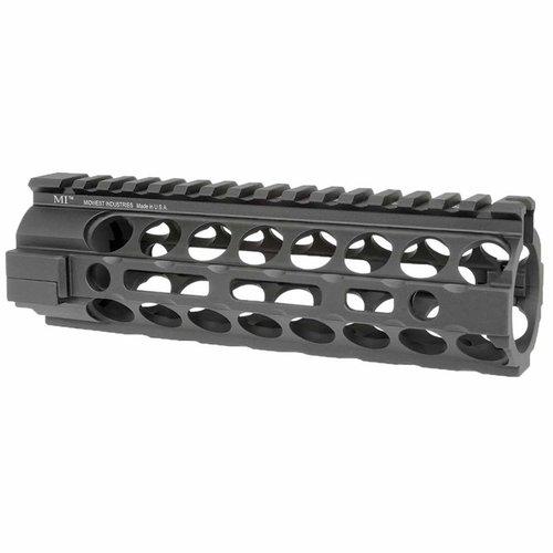 2-Piece Handguard Free Float Aluminum Carbine Length Black