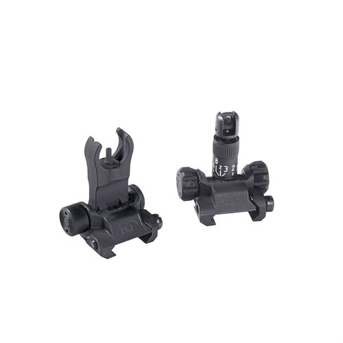 AR-15 Back Up Iron Sight Kit Black