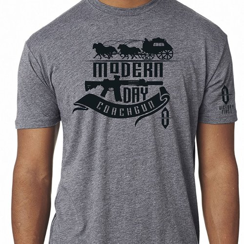 OldWest Style Modern Day Coachgun TShirt Premium Heather Md
