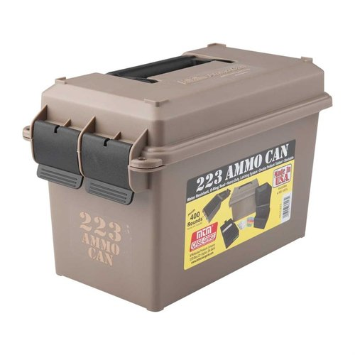 Ammo Can 223 Polymer Tan