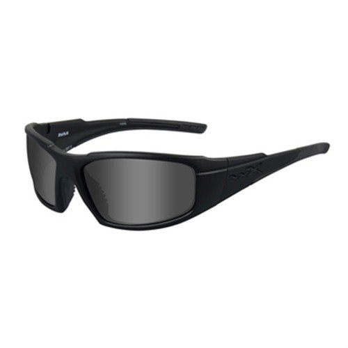 Smoke Gray Rush Shooting Glasses Black