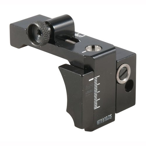 Mauser 98 Adj Foolproof Receiver Rear Sight W/LWK Black