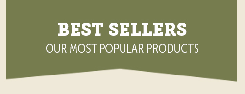 Best sellers - Our most popular products