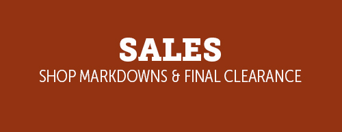 Sales - Shop Markdowns & Final Sales